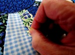 Sewing a quilt, more than just stitching, it delivers a message.